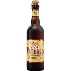 WATERLOO Bière Belge BRUNE DOUBLE 8  75cl