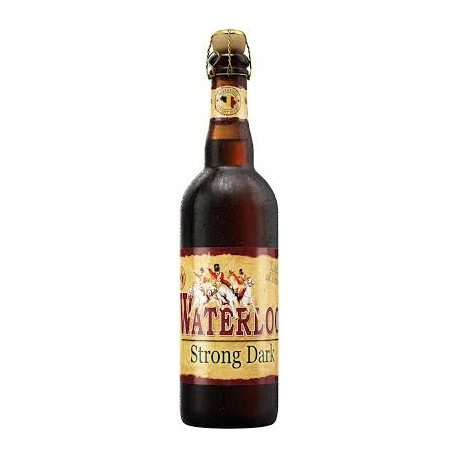 WATERLOO Bière Belge BRUNE DOUBLE 8  75cl