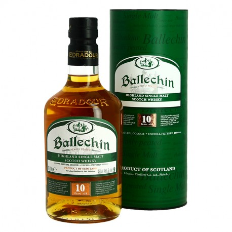 Edradour Ballechin 10 ans highlands single Malt