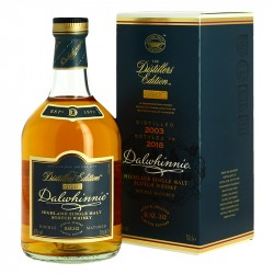 WHISKY DALWHINNIE Distillers Edition Highlands