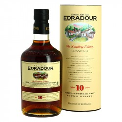 EDRADOUR 10 ans Highland Single Malt Whisky 70 cl