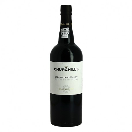 CHURCHILL'S CRUSTED PORT 2006 75 cl