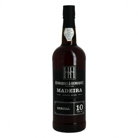 HENRIQUES & HENRIQUES MADEIRA MALVASIA 10 ans 75 cl