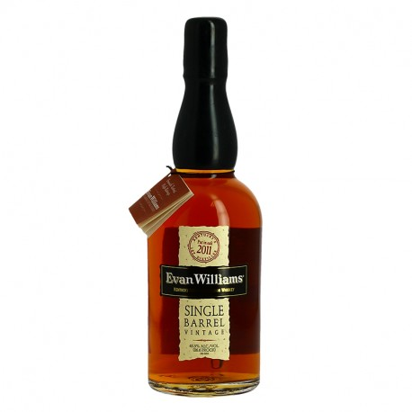 Evan Williams 2011 single Barrel Vintage Kentucky Straight Bourbon Whiskey Heaven Hill