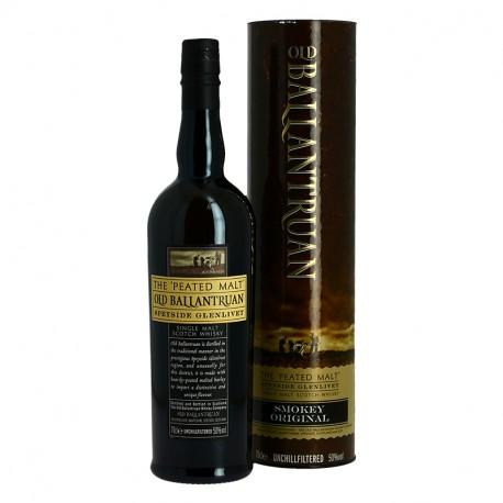 OLD BALLANTRUAN Speyside Whisky tourbé 70 cl
