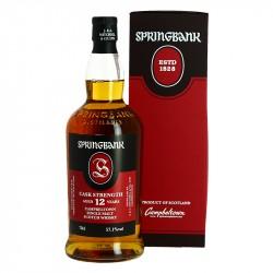 Springbank 12 ans Brut de Fut Whisky Campbeltown