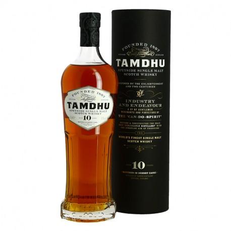 Whisky TAMDHU 10 ans Speyside Single Malt Scotch Whisky