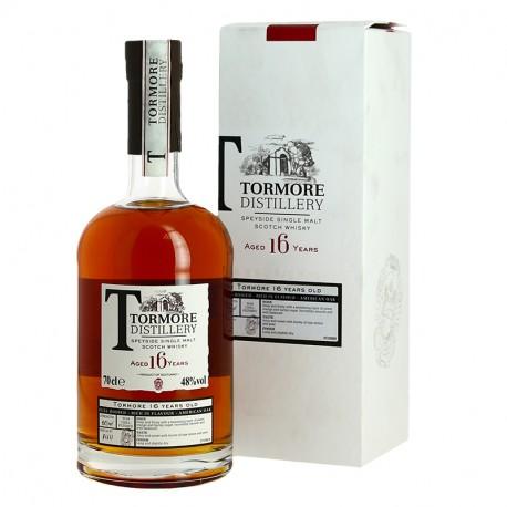 Tormore Distillery 16 ans Speyside single Malt Scotch Whisky