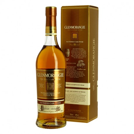 GLENMORANGIE 12 ans Nectar d'Or Fut de Sauternes Highlands Whisky