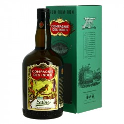 Rhum Compagnie des Indes Latino Rhum Traditionnel 70 cl