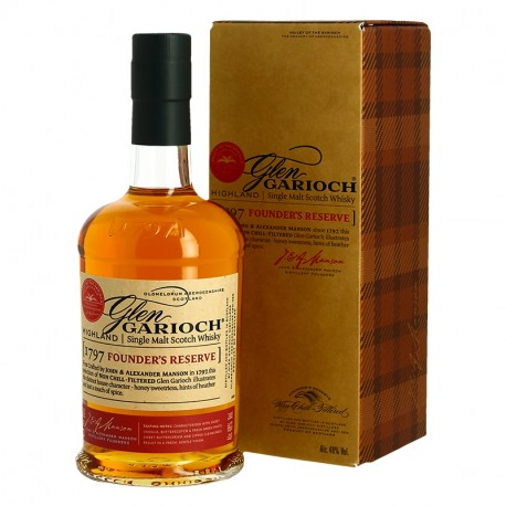 Whisky Glen Garioch Founder's Reserve 1797 Highland Single Malt Scotch Whisky