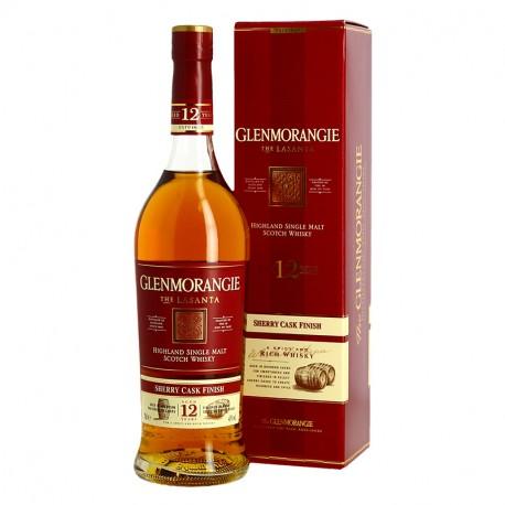 GLENMORANGIE 12 ans Lasanta Fut de Sherry Oloroso Highland Whisky