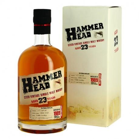 HAMMER HEAD Single Malt Whisky Tchèque 70 cl