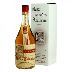 CALVADOS LEMORTON 15 ANS 70 cl