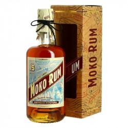 RHUM MOKO 15 ans Rhum Traditionnel du Panama fini en fût de Cognac
