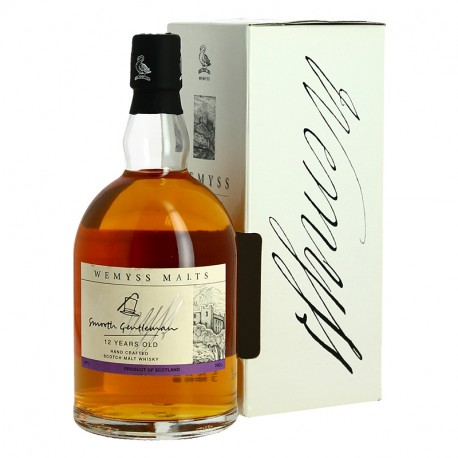Smooth Gentleman 12 ans Blended Whisky Wemyss Blended Malts