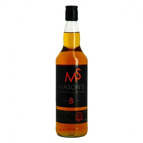 Mason's 8 ans Highlands pure Malt Scotch Whisky 70 cl