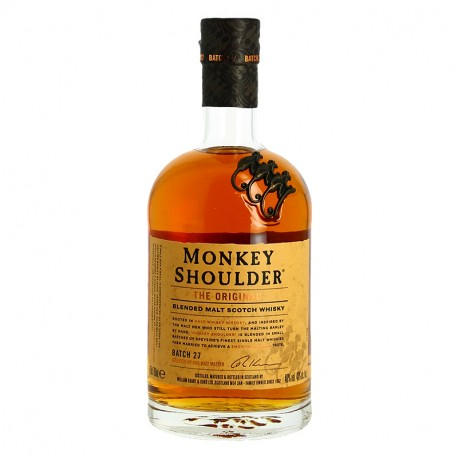 MONKEY SHOULDER Blended Malt Scotch Whisky Fruité 70 cl