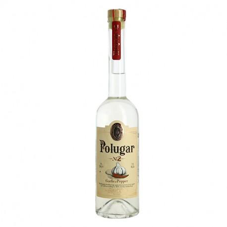 Polugar N°2 Garlic & Pepper vodka aromatisée ail et poivre