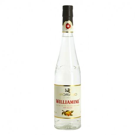 WILLIAMINE MORAND Eau de Vie de POIRE WILLIAMS du Valais 70 cl