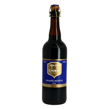 CHIMAY BLEUE Bière BELGE TRIPLE TRAPPISTE 75 cl