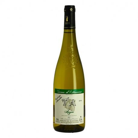 Anjou Blanc Sec Terres d'Allaume Vin Blanc de la Loire