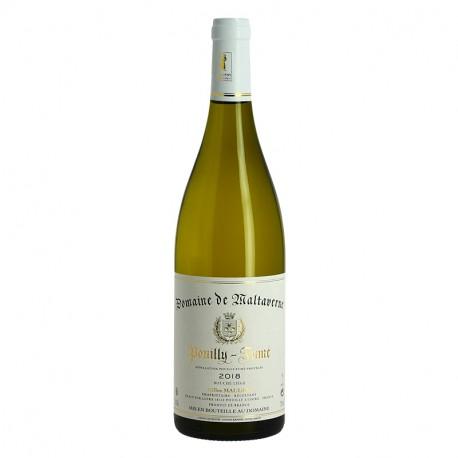 Pouilly Fumé par le Domaine Maltaverne Vin Blanc de la Loire