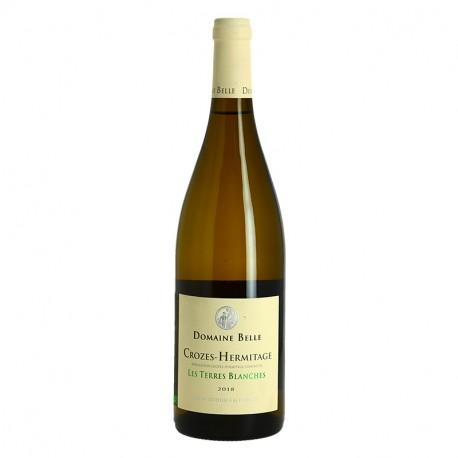 LES TERRES BLANCHES Domaine BELLE Crozes Hermitage Blanc
