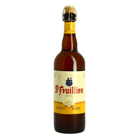 ST FEUILLIEN Bière belge blonde d'abbaye 75cl