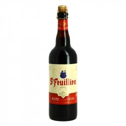 ST FEUILLIEN Bière Belge Brune d'Abbaye 75cl