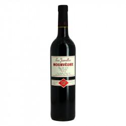 Mourvèdre Les JAMELLES Vin Rouge du pays d'Oc Languedoc