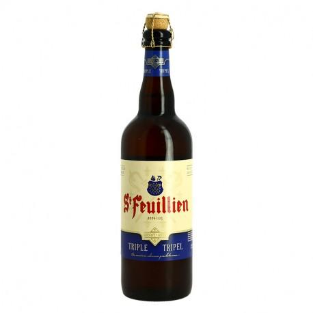 ST FEUILLIEN Bière belge Triple d'abbaye 75cl
