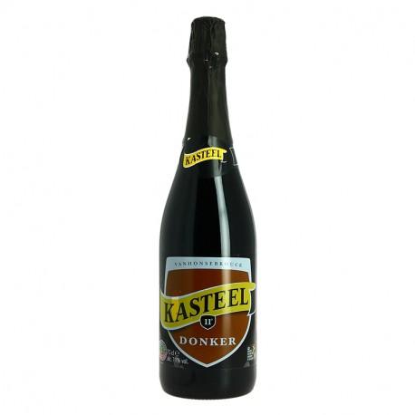 KASTEEL DONKER Bière Belge Brune 75CL