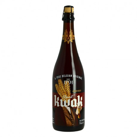 KWAK Bière Ambrée Belge 75cl