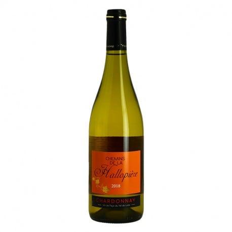 HALLOPIERE Chardonnay Vin Blanc du Val de Loire