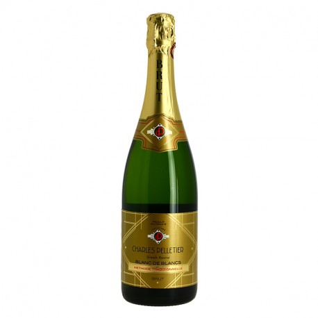 Charles Pelletier Blanc de Blancs Brut 75 cl Méthode Traditionnelle
