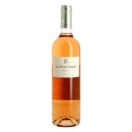 Le PETIT PONT vin rosé du Pays d'Oc par Preignes le Vieux