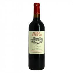 Château Pineraie Cahors Vin Rouge du Sud-Ouest Label Terra Vitis