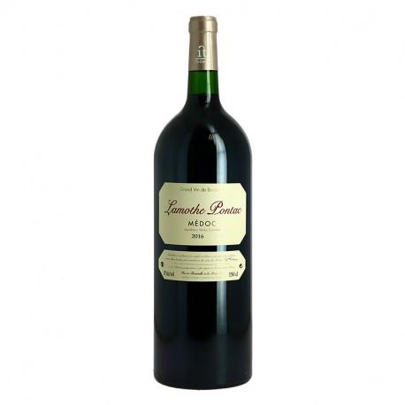 Château LAMOTHE PONTAC Vin Rouge du Médoc MAGNUM 1.5 l