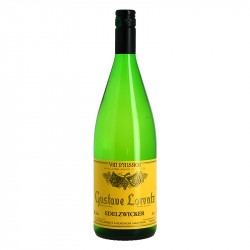 EDELZWICKER LORENTZ 1 LITRE Vin Blanc d'Alsace