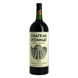 Château Lyonnat Vin de Bordeaux Lussac St Emilion Milhade Magnum 1.5 l