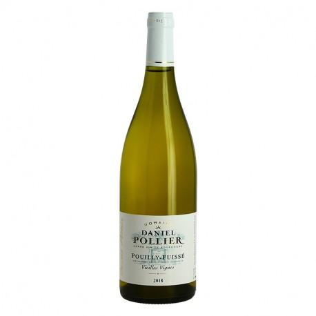 Pouilly Fuissé Vieilles Vignes par le Domaine Daniel Pollier Vin Blanc de Bourgogne
