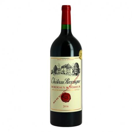Magnum de vin rouge du Château Recougne Milhade Bordeaux Supérieur