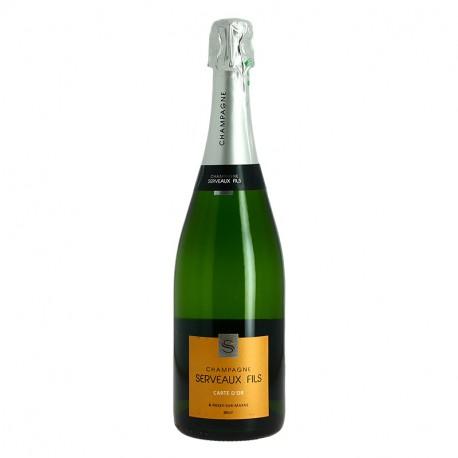 Champagne Serveaux Carte d'OR Champagne Brut 75 cl