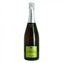 Champagne SERVEAUX Pur Chardonnay Champagne Blanc de Blancs 75 cl