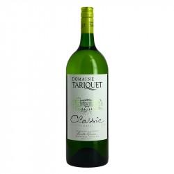 Vin blanc Tariquet Classic Blanc Domaine du Tariquet cépage ugni blanc colombard magnum