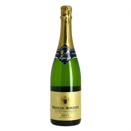 FRANCOIS MONTAND Brut Méthode Traditionnelle 75 cl Vin Pétillant