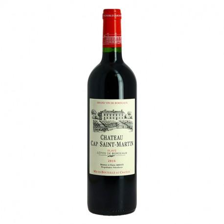 Château Cap Saint Martin 1er Côtes de Blaye Vin Rouge du Bordelais