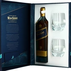 JOHNNIE WALKER Blue Label Blended De Luxe Whisky