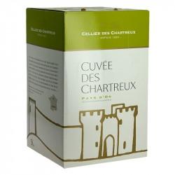 CELLIER des CHARTREUX vin Blanc en BIB 5 Litres